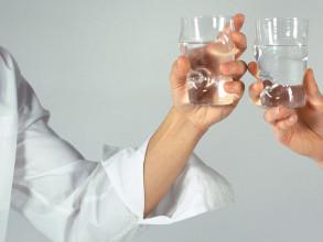 Droog Optic glazen set van 4