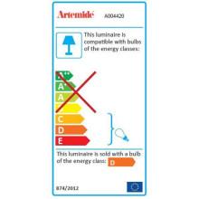 Artemide Tolomeo bureaulamp Halo armatuur wit