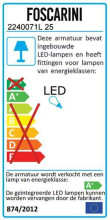 Foscarini Plass hanglamp LED