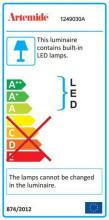 Artemide Pirce Micro Sospensione hanglamp LED