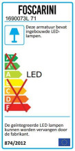 Foscarini Allegro Assai hanglamp LED