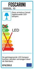 Foscarini Aplomb wandlamp