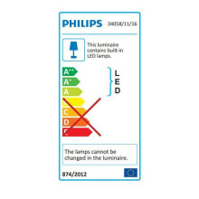 Philips Fit wall 2 badkamerlamp LED