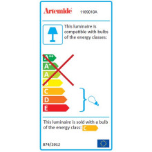Artemide Cabildo vloerlamp LED 3000K - zacht wit