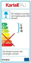 Kartell Taj tafellamp LED