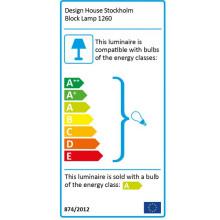 Design House Stockholm Block tafellamp