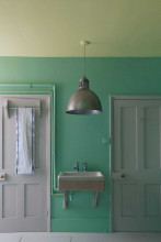Farrow & Ball Hout- en metaalverf binnen Arsenic (214)