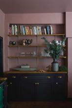 Farrow & Ball Hout- en metaalverf binnen Sulking Room Pink (295)