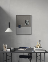Ferm Living Mingle Desk Black Fineer bureau 135x65 verstelbaar