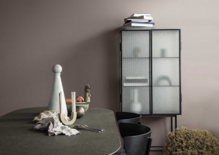 Ferm Living Mingle tafel 220 ovaal black veneer