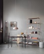 Ferm Living Mingle Desk Charcoal Linoleum bureau 135x65