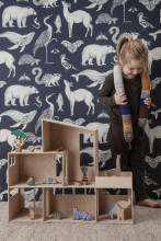 Ferm Living Katie Scott Animals behang