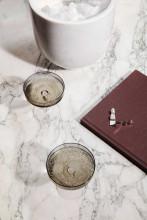 Ferm Living Ripple champagne glas set van 2