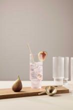 Ferm Living Ripple long drink glazen set van 4
