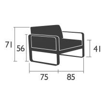 Fermob Bellevie fauteuil