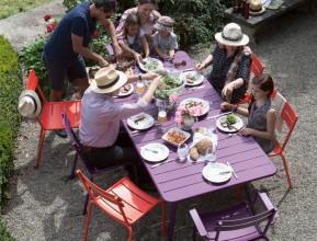 Fermob Luxembourg tuinset 207x100 tafel + 6 stoelen (chair)