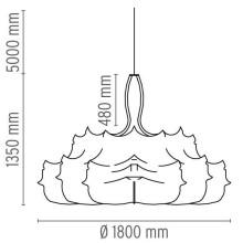 Flos Zeppelin 2 hanglamp