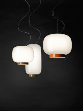 Foscarini Chouchin Reverse 1 hanglamp LED niet dimbaar
