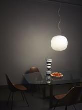 Foscarini Gem hanglamp wit LED dimbaar