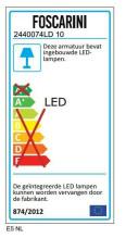 Foscarini Rituals XL hanglamp LED dimbaar
