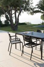Houe Four tuinset 160x90 tafel + 4 stoelen (armchair)