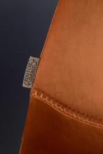 Dutchbone Franky Velvet barkruk 80cm