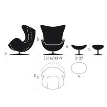 Fritz Hansen Egg Chair fauteuil