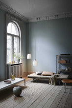 Fritz Hansen Leather opberger small