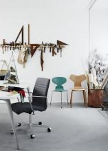 Fritz Hansen Oxford Premium Lowback bureaustoel