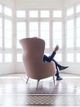 Fritz Hansen Ro JH1 Chair loungestoel designers selection