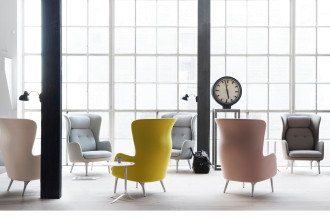 Fritz Hansen Ro JH1 Chair loungestoel designers selection