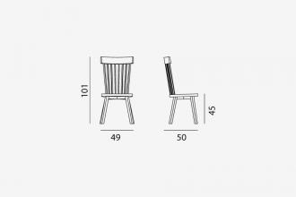 Gervasoni Gray 21 stoel