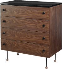 Gubi Grossman 62 dressoir 4 lades