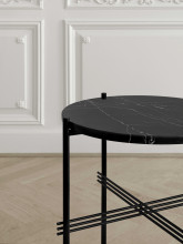 Gubi TS Table Marble salontafel 80