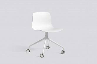 Hay About a Chair AAC14 stoel met wit onderstel
