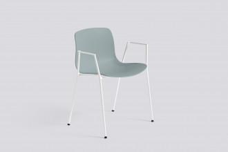 Hay About a Chair AAC18 stoel met wit onderstel