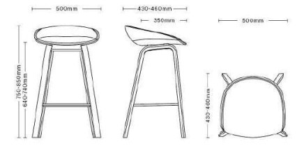 Hay About a Stool AAS33 barkruk