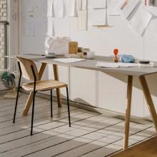 Hay Copenhague tafel CPH30 mat gelakt eiken 200x90