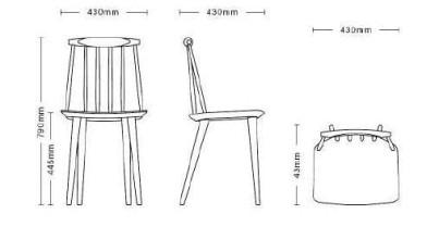 Hay J77 stoel