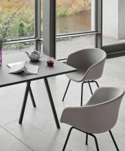 Hay Loop Stand tafel zwart 250x93