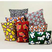 Hay Embroidered Cushion Grey Matter kussen