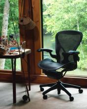 Herman Miller REFURBISHED Aeron Chair (classic) bureaustoel graphite frame