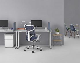 Herman Miller REFURBISHED Mirra Chair bureaustoel graphite frame