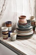 HKliving 70's Ceramic Tapas schaal