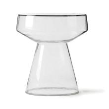 HKliving Glass bijzettafel