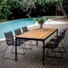 Houe Four tuinset 210x90 tafel + 6 stoelen (armchair)