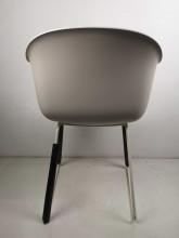 Muuto Tweedekansje - Fiber Sled stoel wit