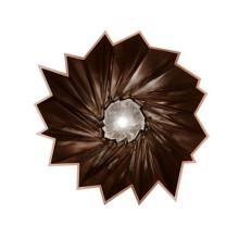 Kartell Shanghai vaas metallic