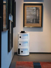 Kartell Componibili kast rond mat (3 comp.)