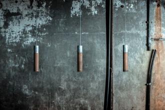 Graypants Roest Vertical 45 zinc hanglamp